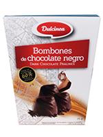 BOMBON Chocolate NEGRO 75gr.  DULCINEA