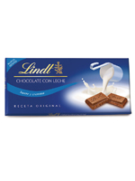 CHOCOLATE  LINDT  LECHE 125 gr.