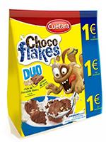 EURO CHOCOFLAKES DUO 150gr.  CUETARA