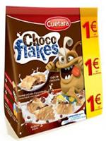 EURO CHOCOFLAKES 130gr.  CUETARA