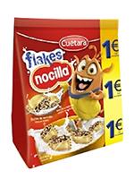 EURO FLAKES NOCILLA 130gr.  CUETARA