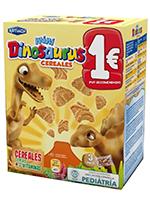 EURO MINI DINOSAURUS Cereales 120gr.