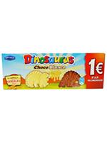 EURO DINOSAURUS Choco BLANCO 90g.