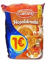 EURO HOJALDRADA  300 gr.  CUETARA