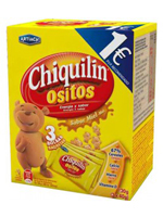 CHIQUILIN OSITOS MIEL 120gr.