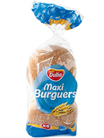 EURO MAXI BURGUER 4 unid.  DULIA