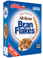Cereal ALL BRAN 375g.  Kellogs
