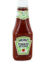 KETCHUP HEINZ PET 342 ml.