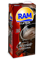 CHOCOLATE A LA TAZA BRICK 1L.  RAM