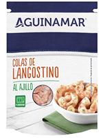 Colas LANGOSTINO AJILLO 105gr AGUINAMAR
