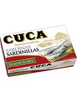 SARDINILLAS Aceite OLIVA RR 90  CUCA