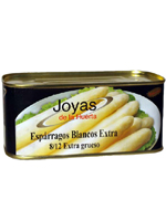 ESPARRAGO Extra 8/12 Lata kg.  JOYAS