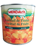 COCKTAIL de FRUTAS 3 kg.  MENDAVIA
