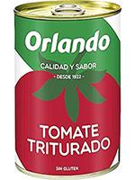 Tomate Lata 800 gr. TRITURADO  Orlando