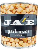 OFERTA GARBANZOS Lata 3 Kg.  JAE