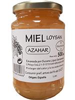 MIEL AZAHAR Vidrio 500 g.  LOYSAN