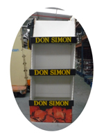 EXPOSITOR CARTON ROSADO Don SIMON