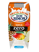 Fruta Leche Pack 3 330cc TROPICAL DSIMON