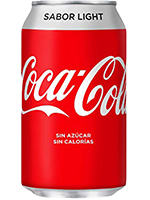 COCA COLA Light LATA 330cc.