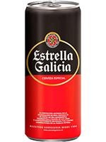 ESTRELLA GALICIA Lata 330cc.