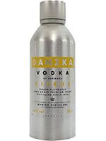 Vodka CITRON 40  70 cl.  DANTZA
