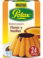 FLAN NATILLAS POTAX MAICENA  6 sobX32g.
