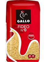 FIDEO  0  250gr   62 5  GALLO