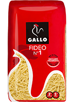 FIDEO  1  500 gr.  GALLO