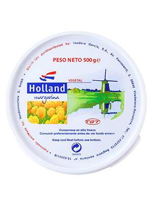 MARGARINA 500 gr. RET VEGETAL  HOLLAND