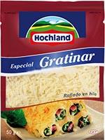 Queso rallado Hilo GRATINA 50g  HOCHLAND