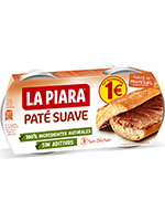 EURO PATESUAVE S/NATURAL Pack 2