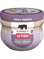 PATE FINAS HIERBAS T/100g.  PIARA
