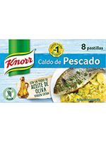 CALDO  Knorr  PESCADO 8 Unidades