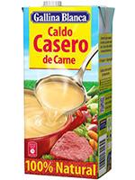 CALDO casero CARNE 1L Brick  G.BLANCA