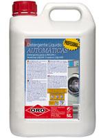 Detergente LIQ.Lavadoras Ind.ORO 5L.